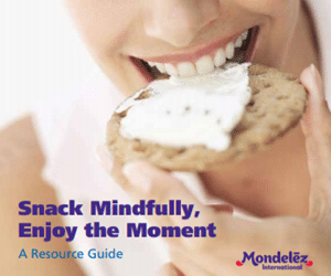 Mondelez International presents: Snack Mindfully, Enjoy the Moment!