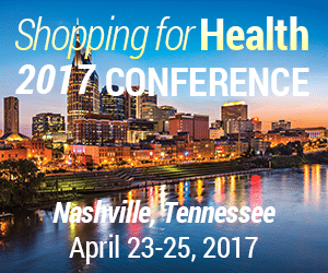 Shopping for Health 2017 Conference April 23 - 25, 2017