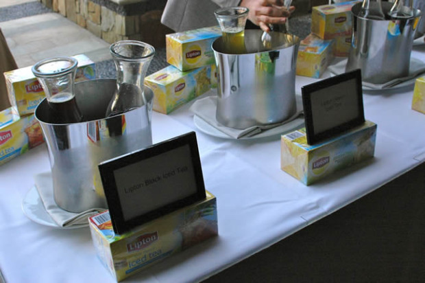 Product Demonstrations at Shopping for Health 2015 Conference