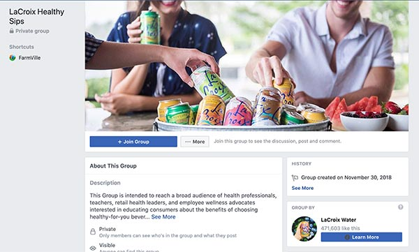 LaCroix® Heathy Sips Community - Connect with us on Social