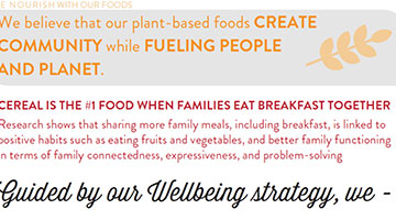 we nourish with our foods