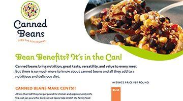 Bean Benefits Fact Sheet